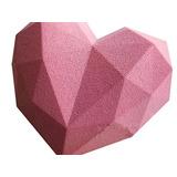 Molde Para Pastel Bandejas De Chige Diamond Heart Mousse, 7,