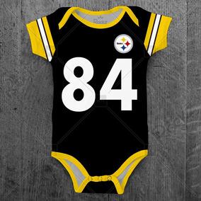 Body Pittsburgh Steelers Nfl Infantil Bebe Personalizado c684950490d