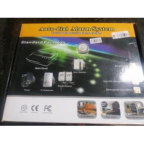 Kit Alarme Residencial Discadora Chip Gsm Wireless Celular