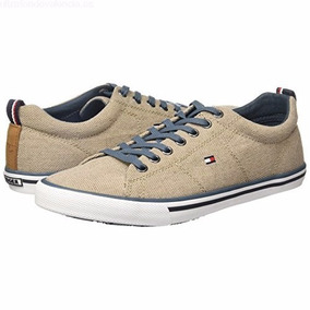 Tommy Hilfiger 3d Tenis Choclo Casual Para Hombre