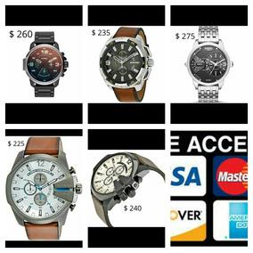 Relojes Diesel Originales Aceptamos Tarjetas De Credito
