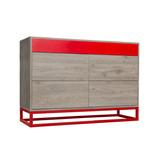 Mueble Moderno De Diseño Credenza, Cómoda, Consola Cajonera