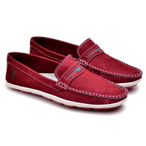 ad485fdf8 Sapato Couro Antiderrapante - Sapatos Bordô no Mercado Livre Brasil