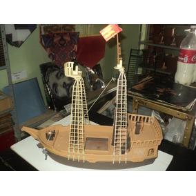 Brinquedo Antigo Anos 80- Playmobil-barco Caravela Pirata