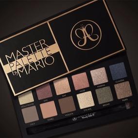 Paleta Master By Mario Anastasia Beverly Hills. 12 Cores