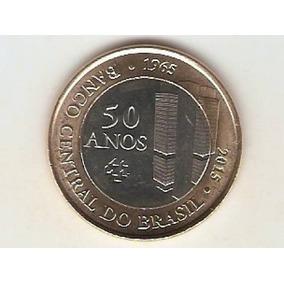 17 Moedas De 1 Real Comemorativa Aos 50 Anos Banco Central