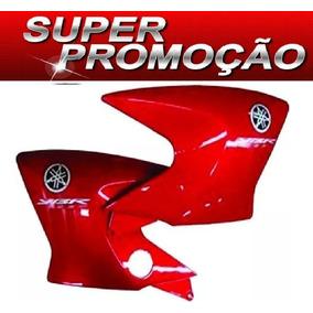 Aba Carenagem Tanque Factor 2011 2012 Vermelho C/ Adesivos