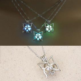 Collar Mariposa Brilla Oscuridad + Estuche + Envío Gratis