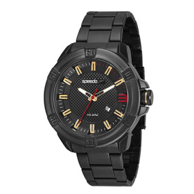 Relógio Speedo Masculino Preto À Prova D´agua 15004gpevps2