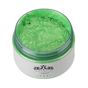 Pomada/gel Colorida Verde (temporária, Sai No Banho)
