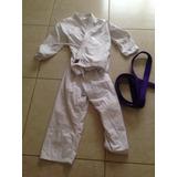 Traje Karate Para Niño 7-12 Años