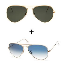 Oculos Ray Ban Feminino Dourado - Óculos no Mercado Livre Brasil 60327b190f