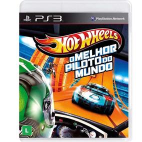 Hot Wheels Melhor Piloto Do Mundo Ps3 Mídia Física Português