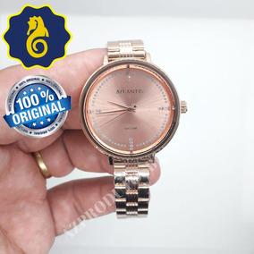 8f78691b803 Relógio Feminino Atlantis Rosé - Relógios De Pulso no Mercado Livre ...