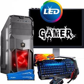 Computador Pc Gamer Completo Monitor 19 Teclado Mouse Gamer