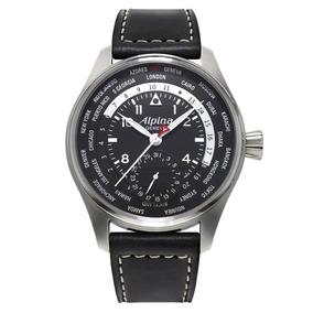 Relógio Alpina Pilot Worldtimer Al-718b4s6 Iwc Série Limited