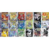 Pokemon Juegos De Game Boy, Color Y Advance Todos Para Pc