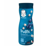 Gerber Graduates Puffs Blueberry Cereales