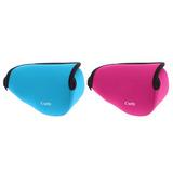 2pcs Bolsa De Cámara De Neopreno Para Sony A6000 16-50mm L