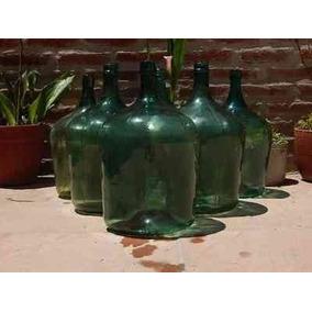 Damajuana De Vidrio 5 Litros Damajuanas Vino Adorno Deco