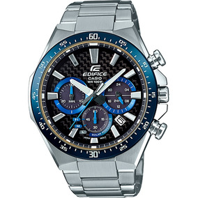 Reloj Casio Edifice Original Cronógrafo Time Square