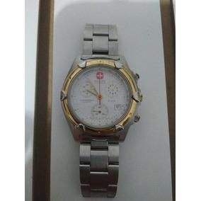 Reloj Hanowa Swiss Military 3 Cronografos Y Oro Amarillo