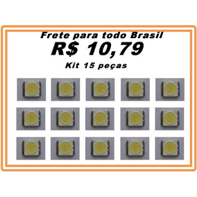 Led Backlight 3535 6v 2w Tv Lg - Novo Original Kit 15 Peças
