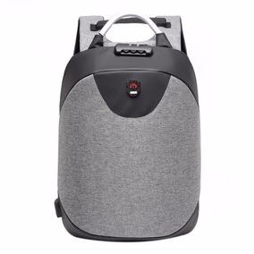 Mochila Antirrobo Candado Usb Impermeable Laptop + Bateria