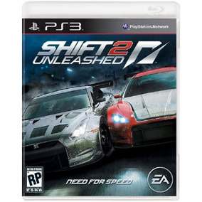 Need For Speed Shift 2 Unleashed - Mídia Física / Ps3