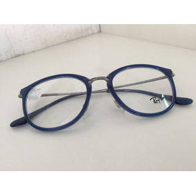 Oculos Redondo Rayban Grau Metal Azul - Óculos no Mercado Livre Brasil 18cc2e94d9