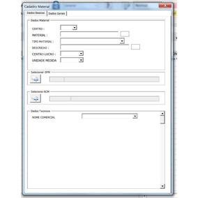 Programação Excel , Access Vba Sap Cadastro Materiais X Ncm