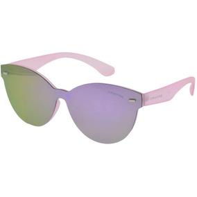 f28da7a9c0a79 Óculos Feminino Rosa Arredondado Haste Tr - Não Perca