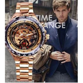 Reloj Automatico Winner Luxury Millionare