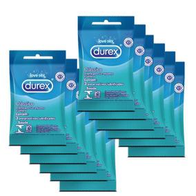 Kit Durex Preservativo Clássico C/3 - 12 Unid. - Cor Incolor