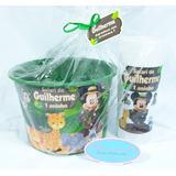 Festa Do Pijama Mickey Safari 60un Balde Pipo+long Drin+bri