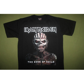 Gusanobass Playera Rock Metal Iron Maiden Book Ch Med Gde