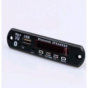 Placa Decodificador Usb Bluetooth Aux Mp3 Fm Pen Drive