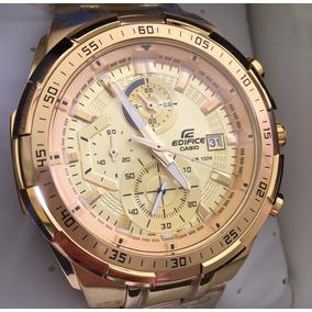 108e6fd9643 Relogio Casio Vintage Todo Dourado Masculino - Relógios De Pulso no ...
