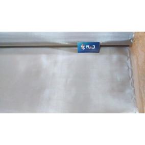 Tela De Aço Inox Malha 100, Fio 0,10mm