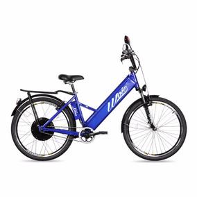 Bicicleta Elétrica Motorizada Woie Silver 48v 350w - Azul