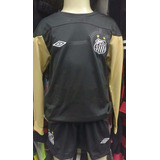 f7e45b16d7 Camisa Goleiro Santos Fc Infantil no Mercado Livre Brasil