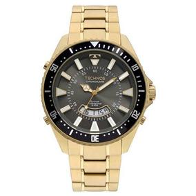 Relogio Technos Skydrive Dourado - Relógios De Pulso no Mercado ... 8fac31833a