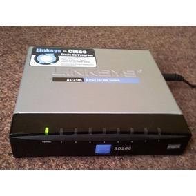 Linksys ® Sd208 8-port 10/100 Switch (linksys To Cisco)