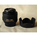 Nikon - Lente 35mm F:1.8 Dx Como Nuevo