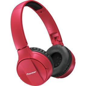 Fone De Ouvido Bluetooth Pioneer Com Microfone Se-mj553bt