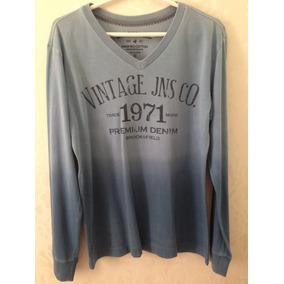 Camisa/suéter Brooksfield Azul Degradê