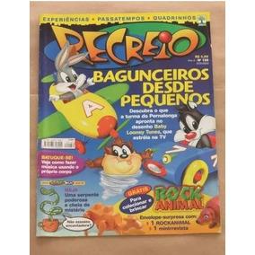 Revista Recreio 159 - Pernalonga Looney Tunes Frajola Taz