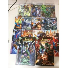 Liga Da Justiça - Revista Mensal Panini - Edições 91 A 104