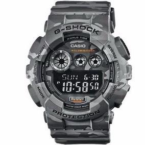 9d4fbd926a9 Relógio Casio G Shock Camuflado Gd 120cm 8dr Original + Nfe