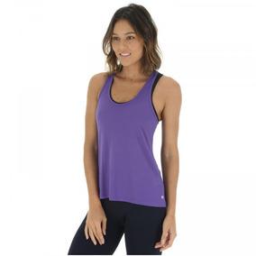 Camiseta Regata Campeão Oxer Jogging New - Roxo cinza 8929ecb635b